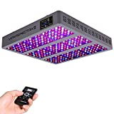 VIPARSPECTRA Timer Control Series VT1350 1350W LED Grow Light - Dimmable VEG/BLOOM Channels 12-Band Full Spectrum for Indoor Plants