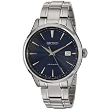 Seiko Men's SRPA29 Analog Display Japanese Automatic Silver Watch