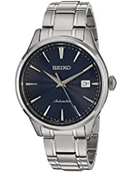 Seiko Mens Japanese Automatic Stainless Steel Casual Watch, Color: Silver-Toned (Model: SRPA29)