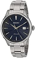 Seiko Men's Japanese Automatic Stainless Steel Casual Watch, Color: Silver-Toned (Model: SRPA29)