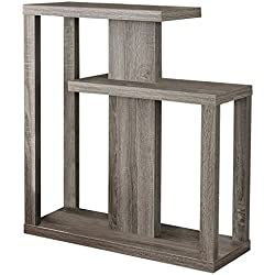 Monarch Specialties I 2472 Dark Taupe Hall Console Accent Table, 32""
