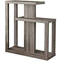 Monarch Specialties I 2472 Dark Taupe Hall Console Accent Table, 32