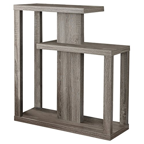(Monarch Specialties I 2472 Dark Taupe Hall Console Accent Table, 32