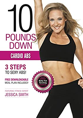 Cardio Abs DVD: HIIT cardio interval training, sculpting, fat burning, Tabata, intermediate to advanced level workout, best home exercise