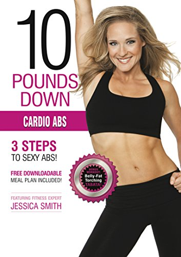 Cardio Abs DVD: HIIT cardio interval training, sculpting, fat burning, Tabata, intermediate to advanced level workout, best home exercise (Best Ab Workouts With Medicine Ball)