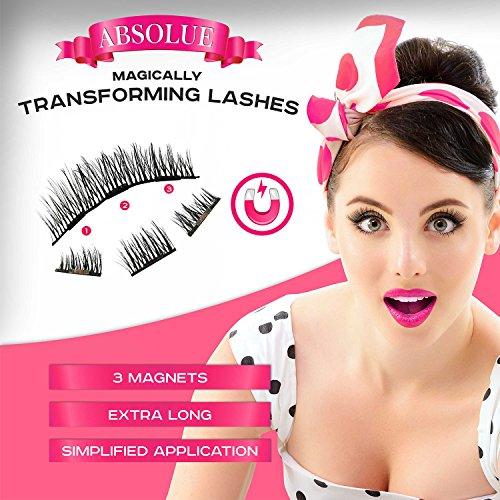Magnetic Eyelashes [No Glue] Premium Quality False Eyelashes Set for Natural Look - Best Fake Lashes Extensions 3D Reusable (8 PCS) New