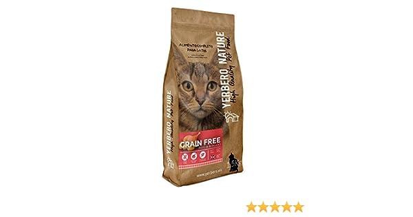 Yerbero Nature de Pavo Grain Free Comida sin Cereales para Gatos - 1,5 kg