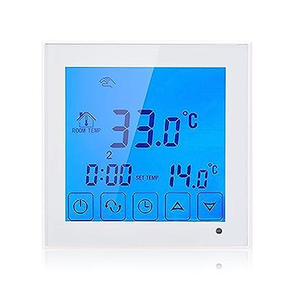 beok tds23 de EP Termostato programable pantalla táctil Temperatura Controlador con largo externo Sensor para cepillo