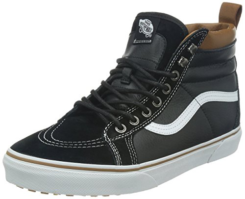 cb94a169ffa Galleon - Vans Unisex SK8-Hi MTE (MTE) Black True White 7.5 Women 6 Men M US