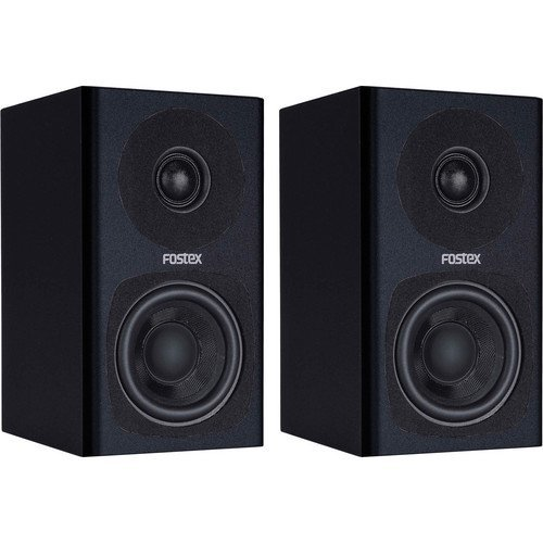 Fostex PM0.3B Personal Active Speaker System (Pair) -Black- REFURBISHED by Fostex