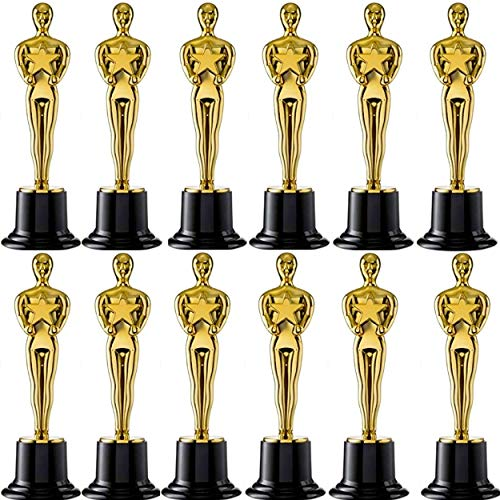 Academy Awards Party Decorations (Oscar Gold Award Trophies, 6