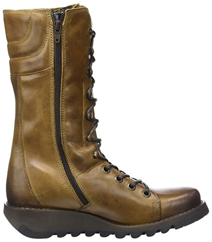 Marron Bottes Camel London Femme Fly Ster768fly wq4PFC