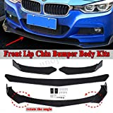 Front Bumper Lip Chin Spoiler For BMW E36 E46 E60 E63 E64 E90 E91 E92 E93 X3 X5