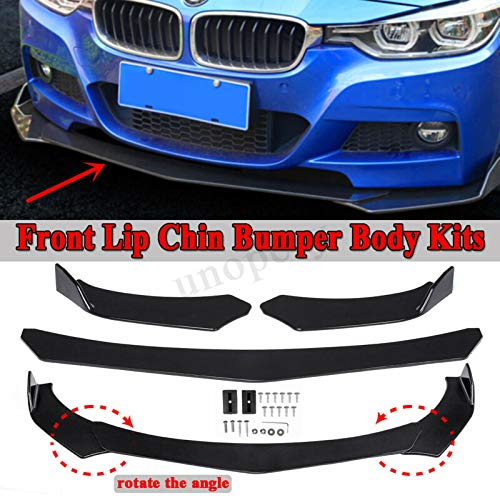 (Front Bumper Lip Chin Spoiler For BMW E36 E46 E60 E63 E64 E90 E91 E92 E93 X3 X5)