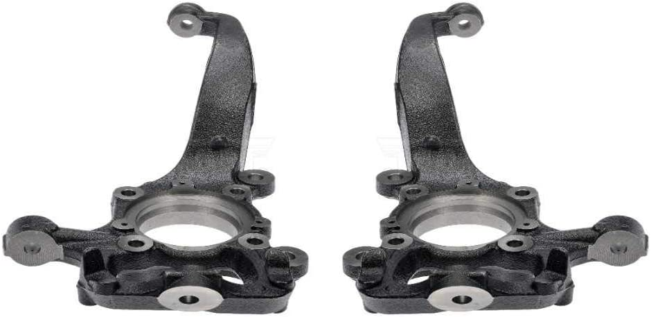 Auto Shack KN798206PR Front Bare Steering Knuckle Spindle Pair