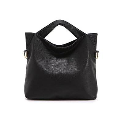 Amazon.com  Ecokaki(TM) Vintage Style Leather Tote Bag Messenger Bag  Crossbody Handbag Purse Hobo Shoulder Bag a880051d50fd5