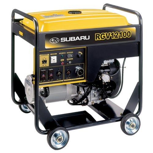 Subaru RGV12100 22.0 HP Gas Powered Industrial Generator, 12000W