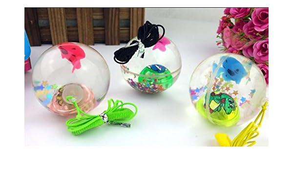 fengge pelota elástica de cristal elástico con 2pcs: Amazon.es: Hogar