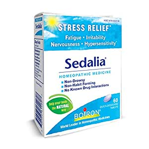 Boiron Sedalia, 60 Tablets, Homeopathic Medicine for Stress for Stress  Relief