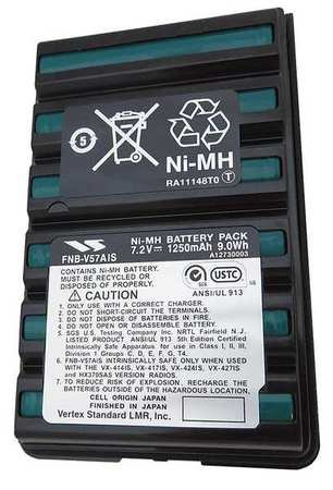 Battery Pack, NiMH, 7.2V, For Vertex by Vertex Standard