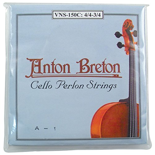 Anton Breton VNS-150C Perlon Cello Strings - 3/4 Size