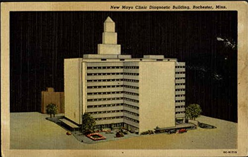 New Mayo Clinic Diagnostic Building Rochester, Minnesota Original Vintage Postcard