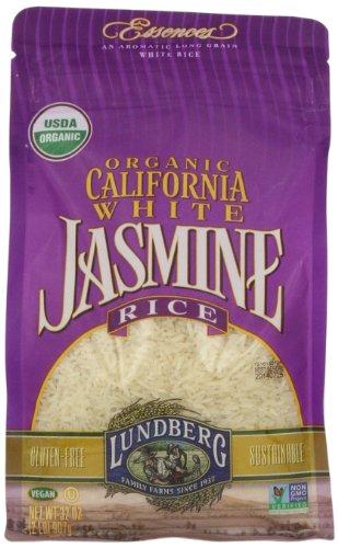 Lundberg Family Farms, California White Jasmine Rice, 32 oz