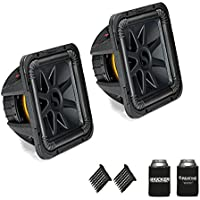 Kicker 44L7S122 Solobaric L7 12 Subwoofers Bundle - Dual 2-Ohm Voice Coils for wiring to a 2-ohm monoblock amplifier