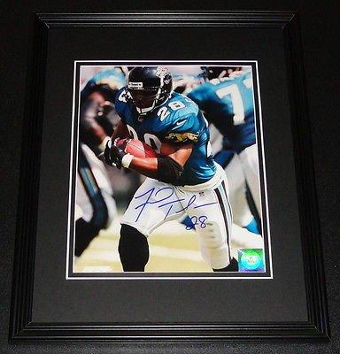 - Fred Taylor Signed Framed 8x10 Photo Jaguars Florida