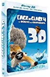 L'Âge de glace 4 : La dérive des continents [Combo Blu-ray 3D + Blu-ray + DVD + Copie digitale]