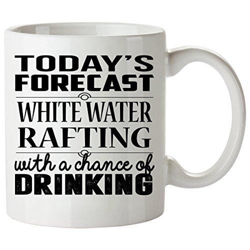 WHITE WATER RAFTING Mug 11 Oz - WHITE WATER RAFTING Gifts - Unique Coffee Mug, Coffee Cup