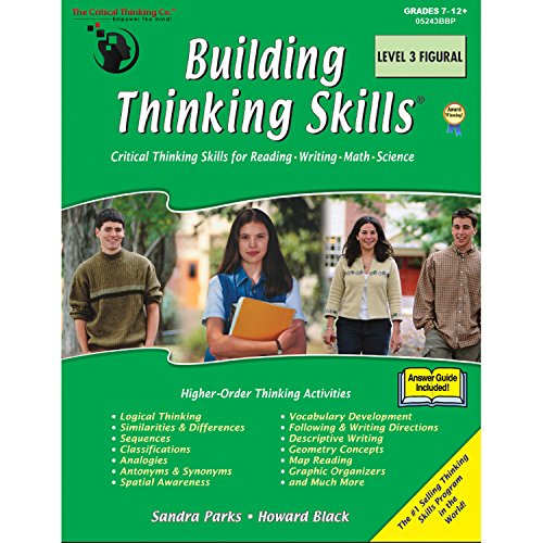 Skill Building Lessons - The Critical Thinking Building Thinking Skills Level 3 Figural School Workbook