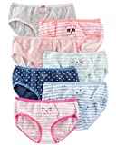 Carter's Girls' 7-Pack Print Days Underwear