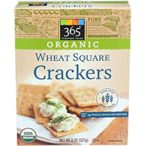 365 by Whole Foods Market, Organic Crackers, Wheat Square, 8 Ounce