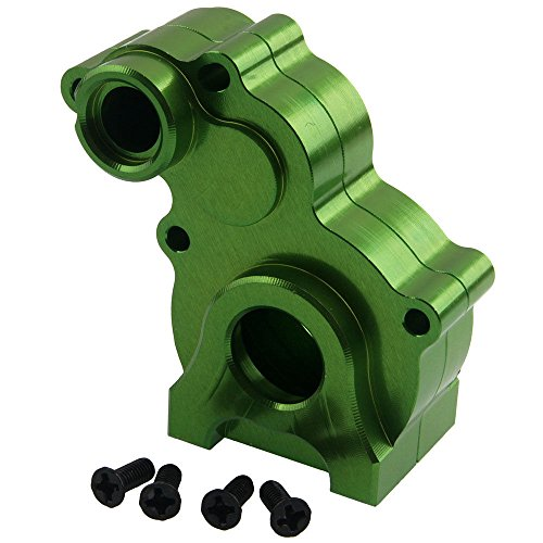 Toyoutdoorparts RC 180013 Green Alum Gear Box (Shell Only) for HSP 1:10 Rock Crawler (Alum Shell)