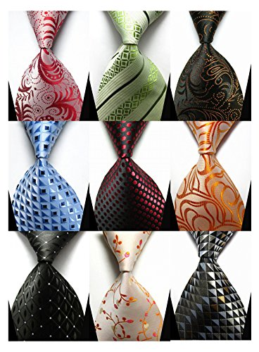 100% Silk Mens Necktie - 9