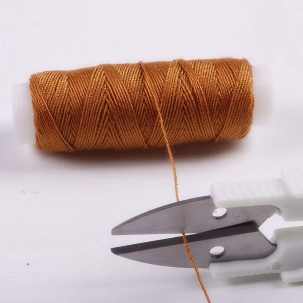 Color Aleatorio SUPVOX Cortador de Hilo Tijera de Costura de V Punto de Gruz Cortah/ílos para Coser Bordado Artesan/ía Trabajo de Arte