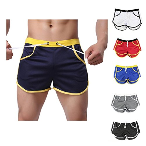 Men Shorts Casual,Haoricu Clearance Fashion Men Pants Trousers Sport Casual Summer Beach Shorts With Pockets