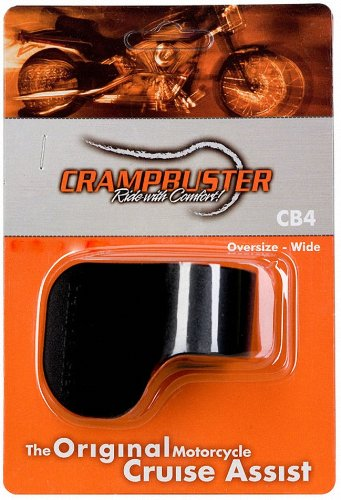 - Crampbuster CB4 Black Throttle Mounted Motorcycle Cruise Assist