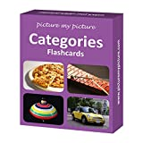 Picture My Picture Categories Flash Cards: 40 Language Photo Cards