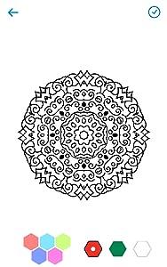 Coloring Art Book - Mandala from ColorMobile