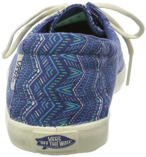 Vans W RATA LO VOK3C6P Damen Sneaker Blau ((Tribal) stv na)