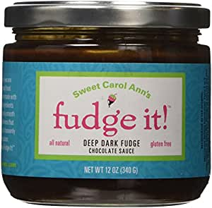 Fudge It! Deep Dark Chocolate Sauce - All Natural, Gluten Free - Made in Lancaster, PA, Amish Country!