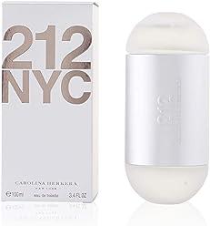 Carolina Herrera 212 Eau de Toilette Spray for Women, 3.4 Fluid Ounce