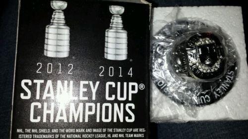 2013-14 FOX LOS ANGELES KINGS 2014 STANLEY CUP CHAMPIONS REPLICA RING MIB SGA