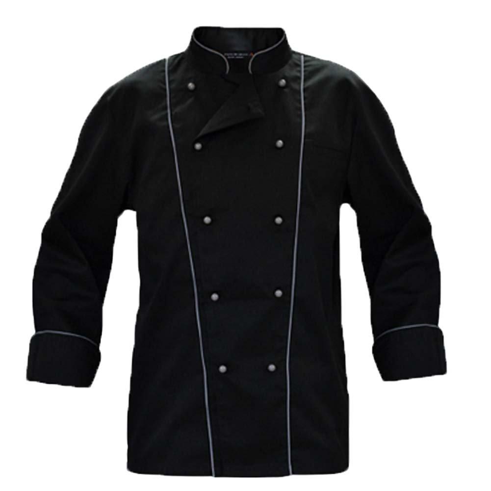 Fratelliditalia Giacca Cuoco Chef Giacca Bianca Nera Blu Celeste Grigia  Rossa Marrone Vari Color ingrandisci beba3a67aa87