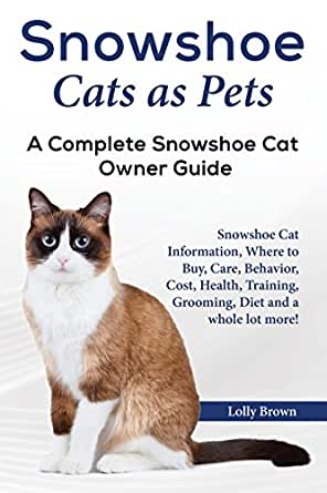 Snowshoe Cats as Pets: Snowshoe Cat Information, Where to Buy, Care, Behavior, Cost, Health ...