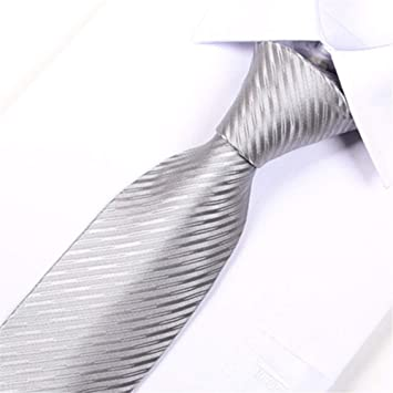 pyty123 Corbata De Color Sólido De Los Hombres Formales De Corea ...
