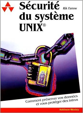 En ligne Sécurité du système Unix epub, pdf