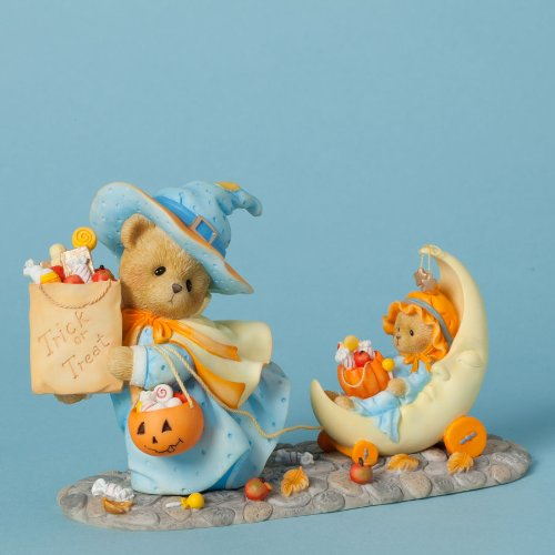 Enesco Cherished Teddies Collection Bear Witch Trick or